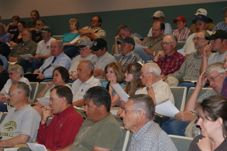 It was a full house at the June 1st meeting